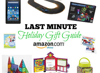 Last Minute Holiday Toy & Gift Guide