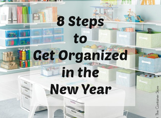 8 Steps to Get Organized (for Good!)