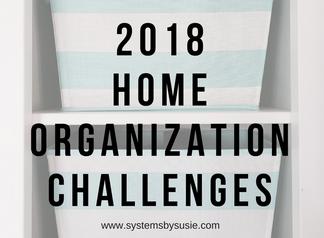 Home Organization Challenge Round Up