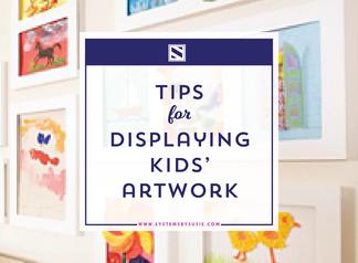 The Best Way to Display Kids' Artwork