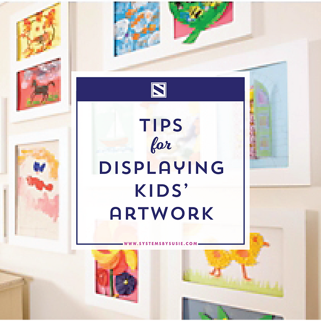 The Best Way To Display Kids Artwork Systems By Susie