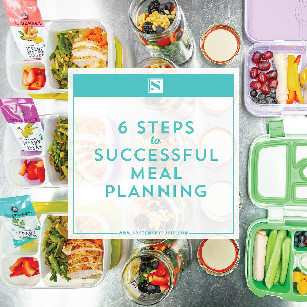 6 Steps to Successful Meal Planning