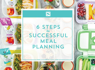 Six Steps to Successful Meal Planning