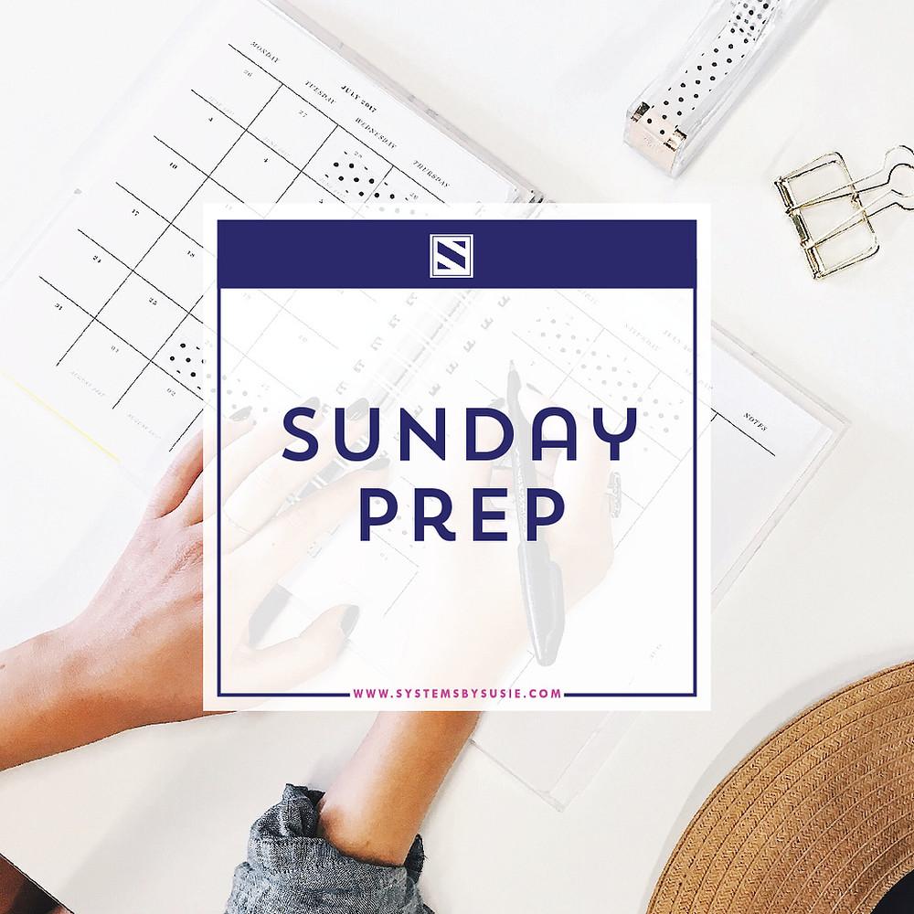 Sunday Prep Image