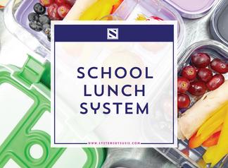 My School Lunch System