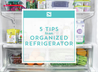 5 Tips to a Squeaky Clean Fridge