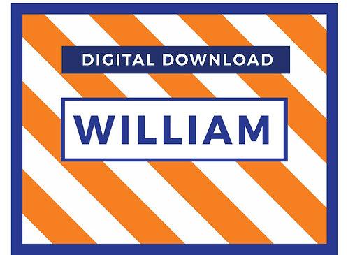 Diagonal Stripes-Digital Download