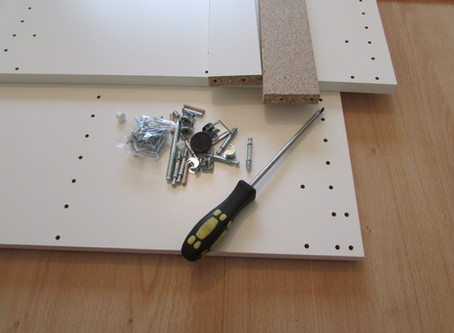 Expert tips to assembling your flat pack furniture.