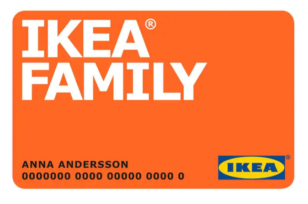 What Does Ikea Family Card Get You