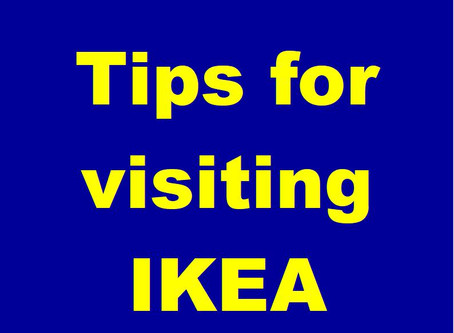 Tips when visiting IKEA – in store and online