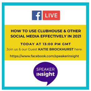 How to use Clubhouse and other Social Media effectively in 2021