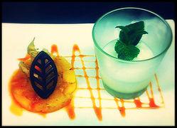 le clos lupin : Poêlée D'ananas aux épices