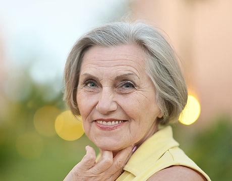 Elegant Older Woman