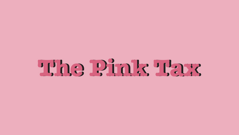 Pink Tax Infographic