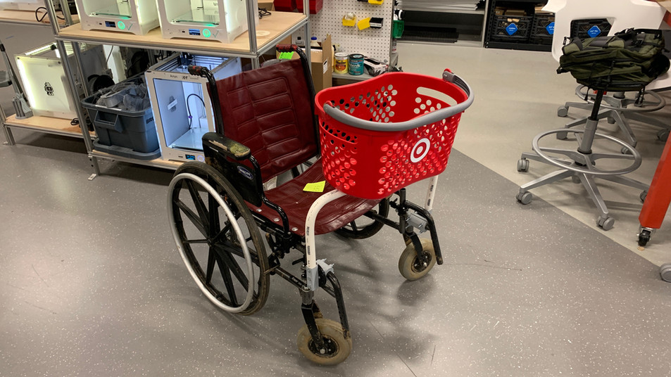 CallCart Wheelchair Attachment