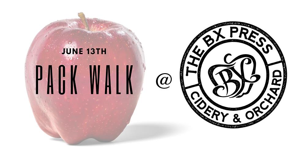 BX Press Cidery Pack Walk