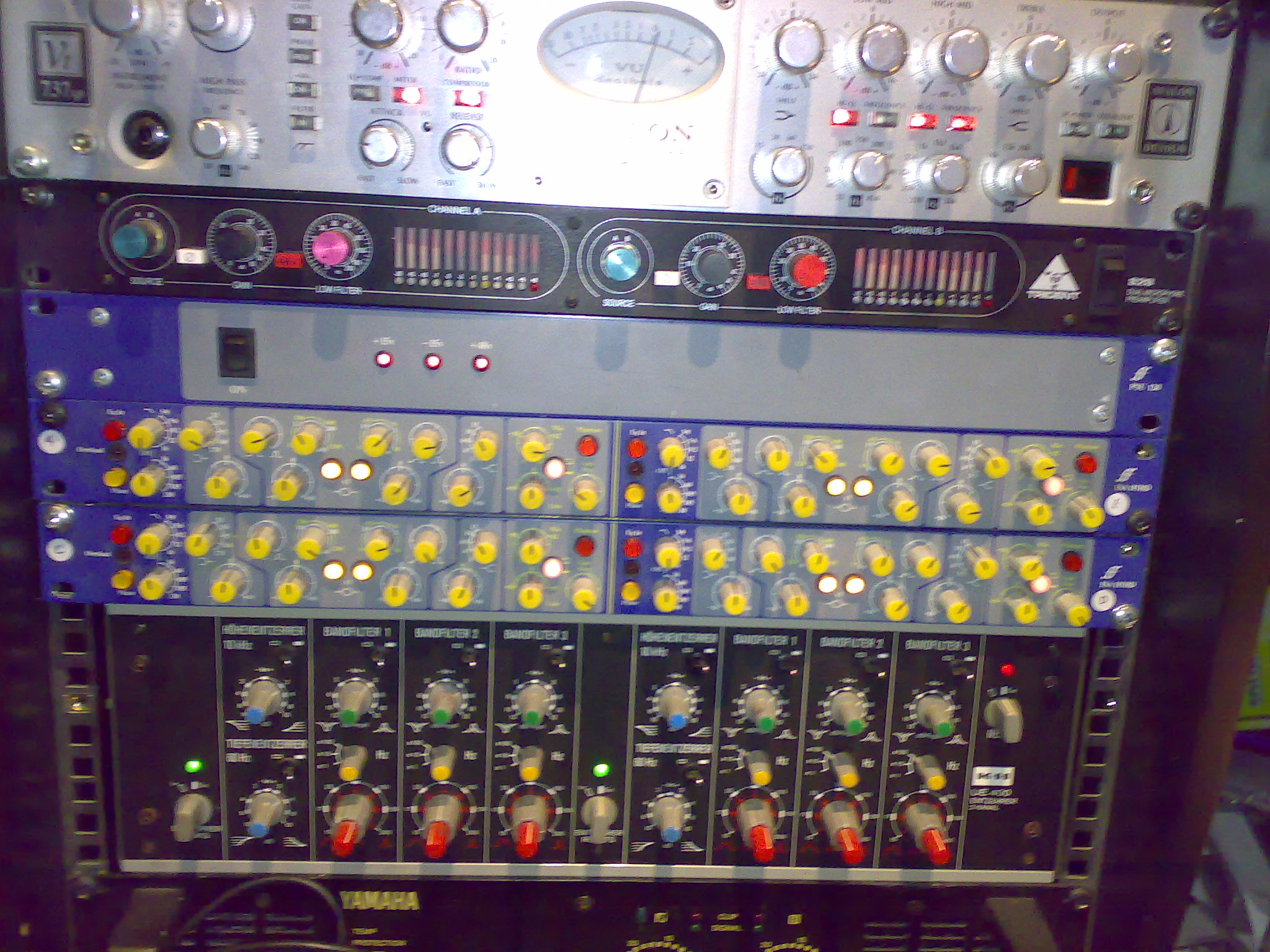 Old rack shots of gear