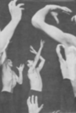 Сцена из спектакля пантомимы Хиросима