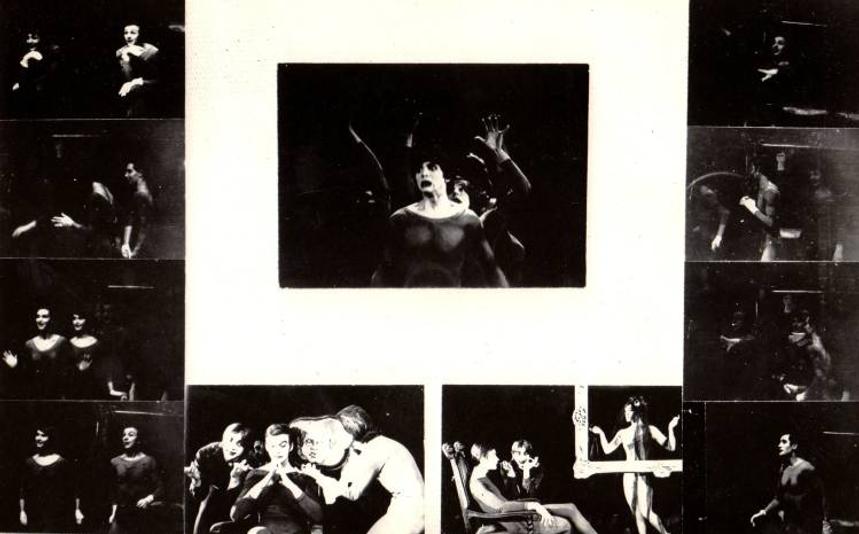 Сцены из спектакля СНЫ СНОВ (пантомима)