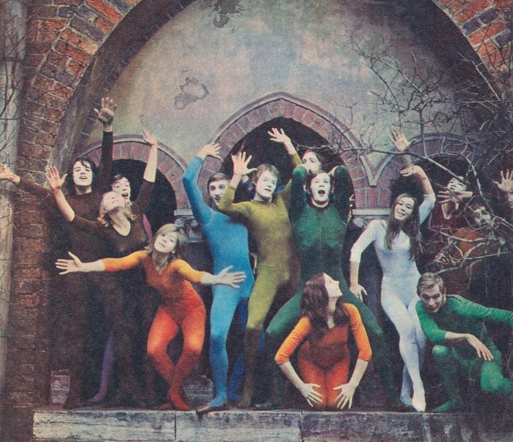 Мимы театра пантомимы