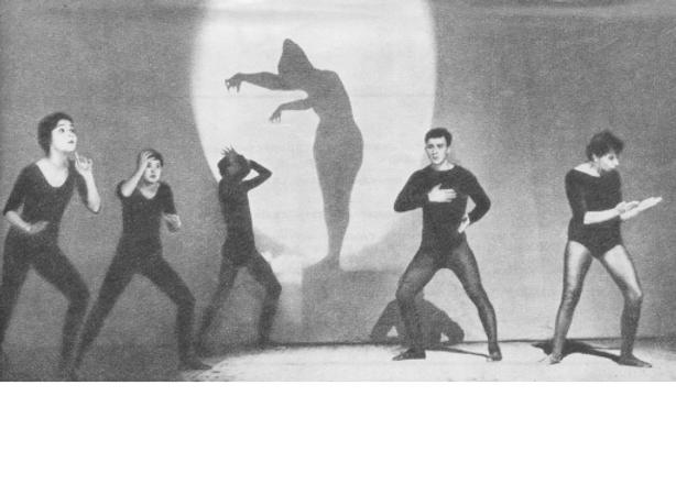 Спектакль пантомимы