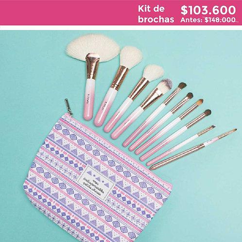 Kit Cotton Candy + Cosmetiquera