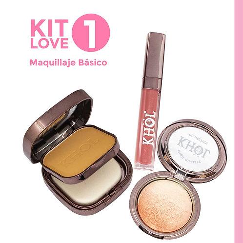 Kit Love 1. Maquillaje Básico