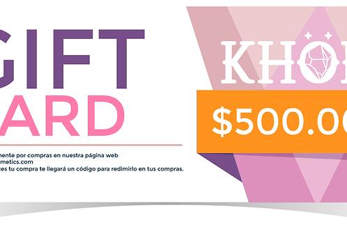 Gift Card 500k