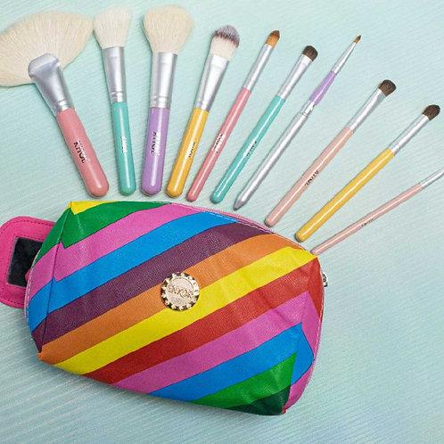 Kit Sugar Brush + Cosmetiquera