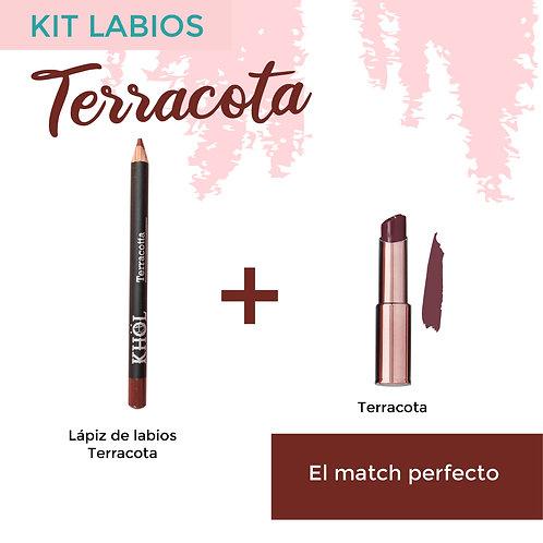 Kit Labios Terracota