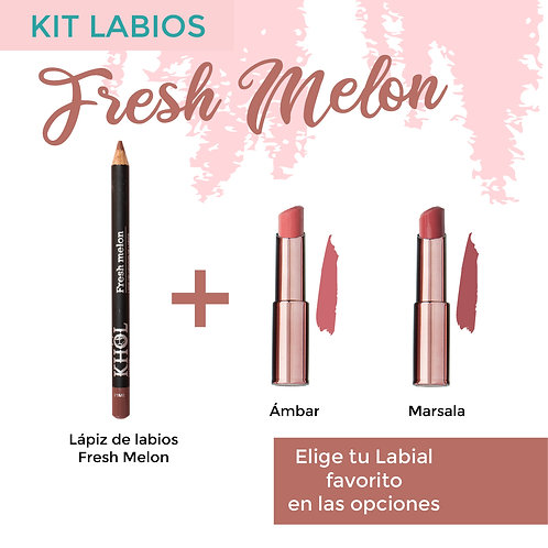 Kit Labios Fresh Melon