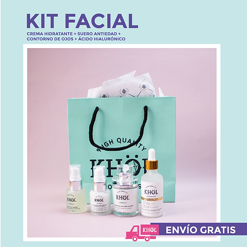 Kit facial +Ácido hialurónico