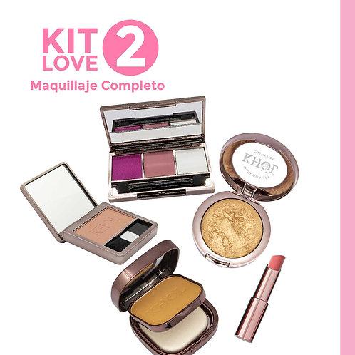 Kit Love 2. Maquillaje Completo