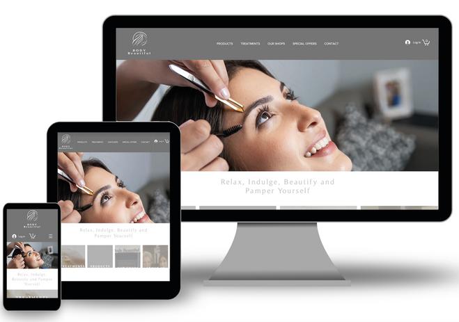 Body Beautiful website Jedburgh and selkirk