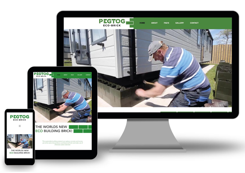 Web design for Jedburgh company, Scottish Borders