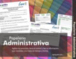 Papeleria administrativa
