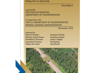 Final Report US93N Published