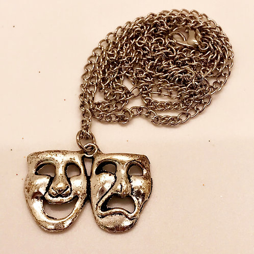 Comedy & Tragedy Necklace