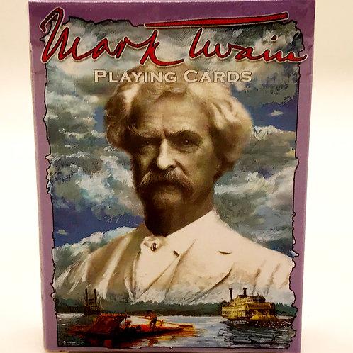 Mark Twain Playing Cards
