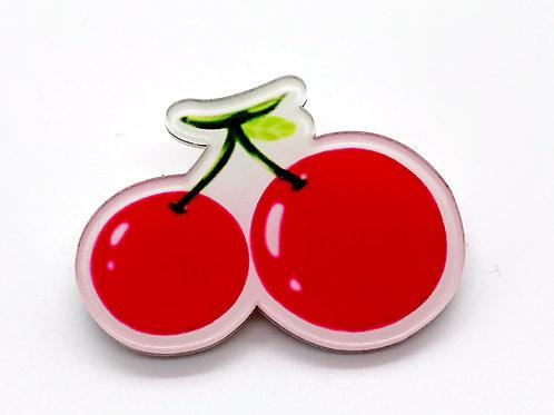 Cherries Pin