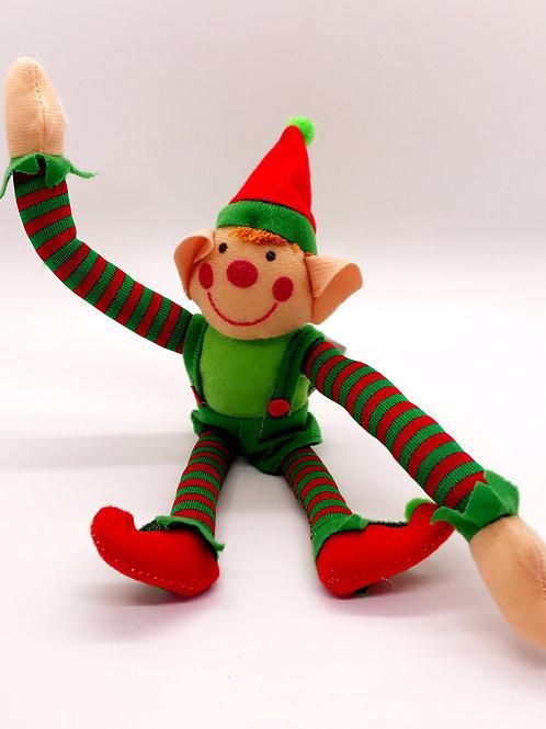 Long Arm Plush Elf - Boy