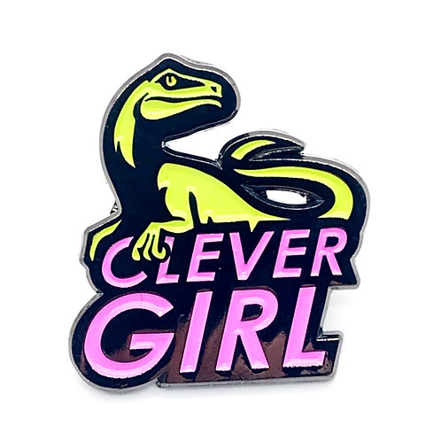 Clever Girl Velociraptor Pin