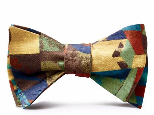Paul Klee 'Temple Gardens' Bow Tie
