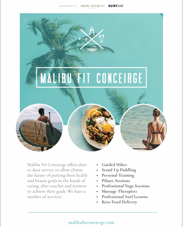 Fitness | Malibu Fit Concierge | Custm Retreats