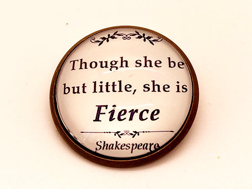 Shakespeare Quote Pin