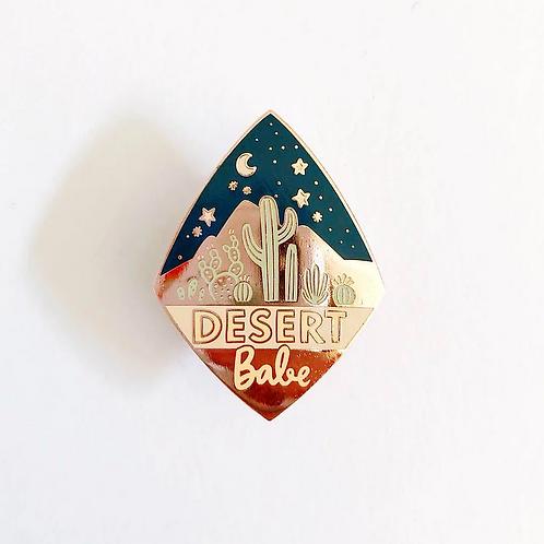 Desert Babe Pin