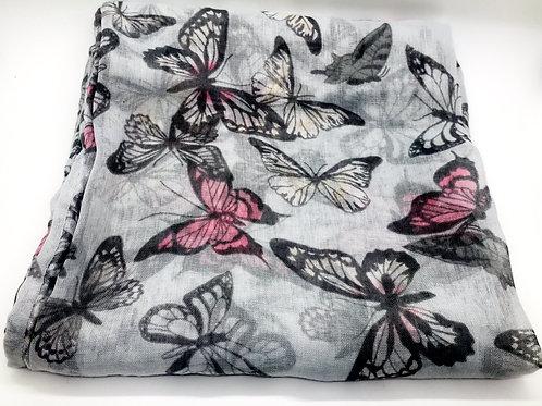 Butterflies In Flight Shawl / Scarf
