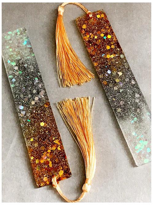 Glitz + Glam Handmade Acrylic Bookmark