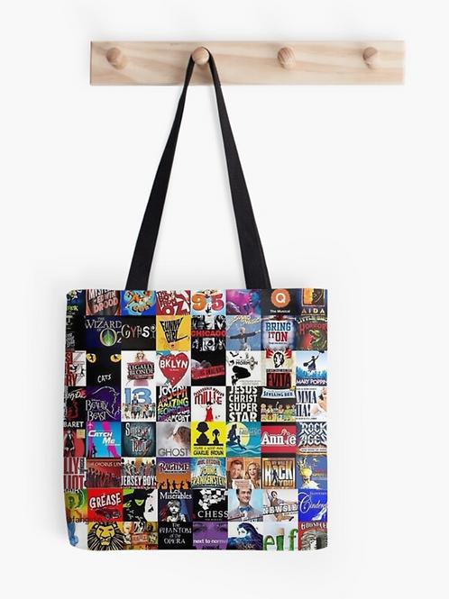 Broadway Musicals Tote Bag #2