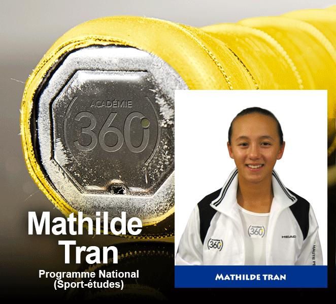 Mathilde Tran se mérite le Grip jaune avec mention
